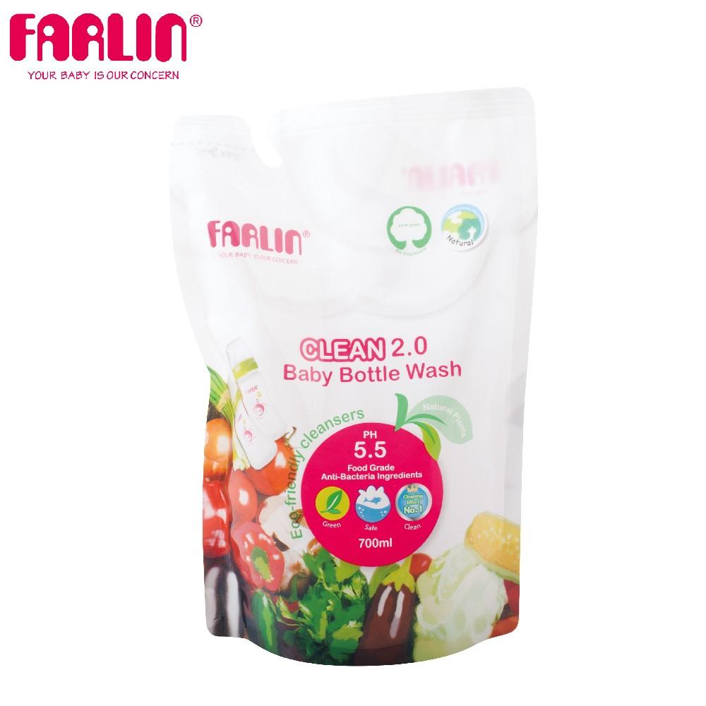 植物性蔬果奶瓶清潔劑(補充包/700ml)