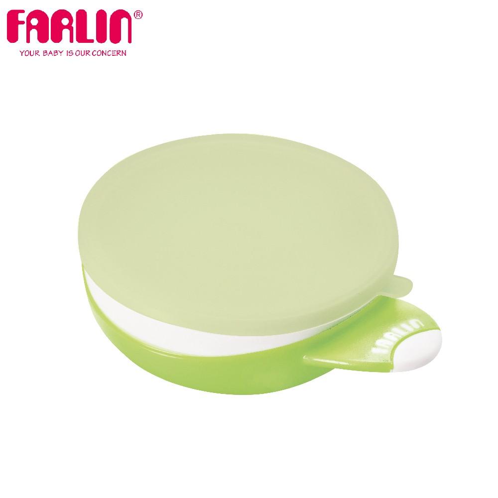 兒童吸盤學習碗(蹦蹦碗/附湯匙)(綠)