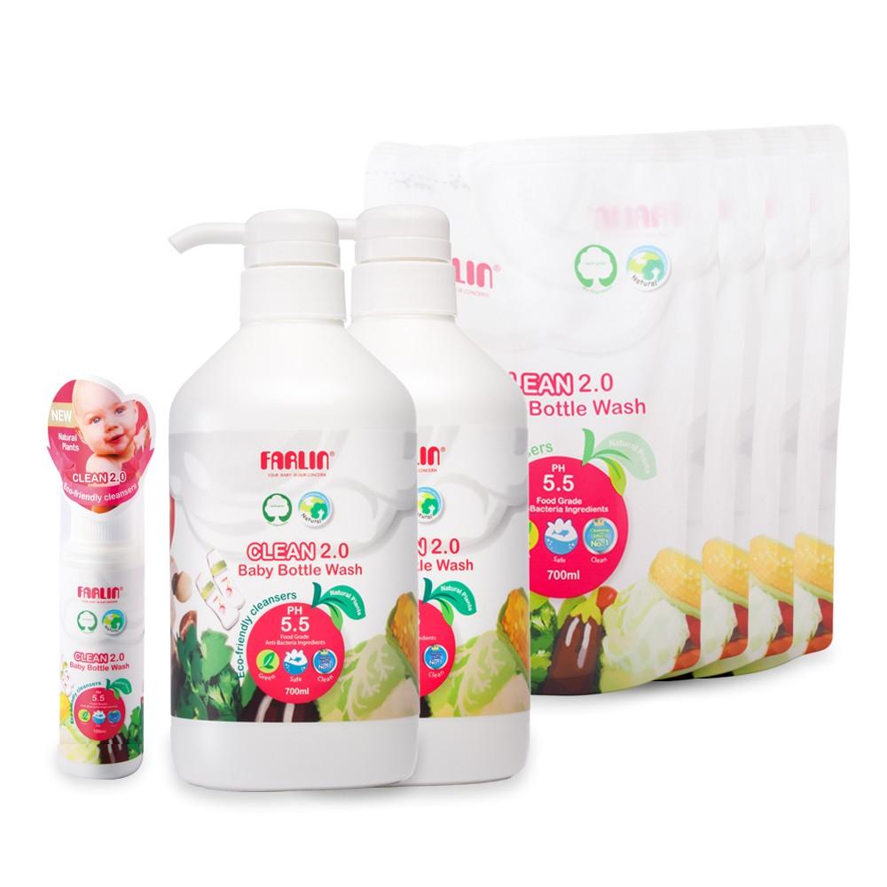 植物性蔬果奶瓶清潔劑(團購8件組)
