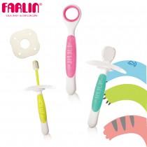 嬰兒舌苔棒固齒練習牙刷組(含三階段牙刷)