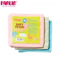 兒童小方巾手帕口水巾(100%純棉)(三入組)
