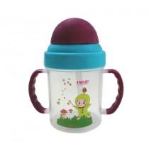兒童吸管練習水杯(200ml/紫)