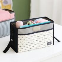 韓國 Conitale 多用途可掛式推車置物袋-灰底小三角