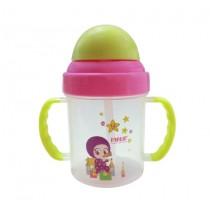 兒童吸管練習水杯(200ml/綠)