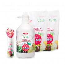 植物性蔬果奶瓶清潔劑(團購4件組)