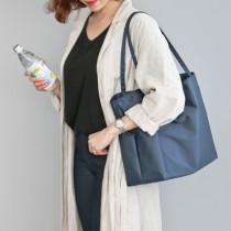 韓國 Conitale  防水子母袋單肩媽媽包-海軍藍