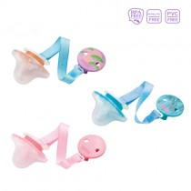新生兒拇指型安撫奶嘴(0M+夜光附鍊)