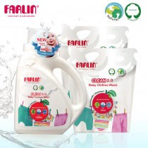 植物性寶寶洗衣精三件組(共2600ML)