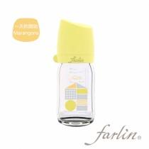 城市心旅行寬口徑玻璃奶瓶-一天的開始 160ML